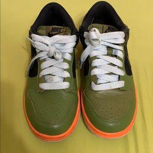 Nike Dunk Low Green Black Grey